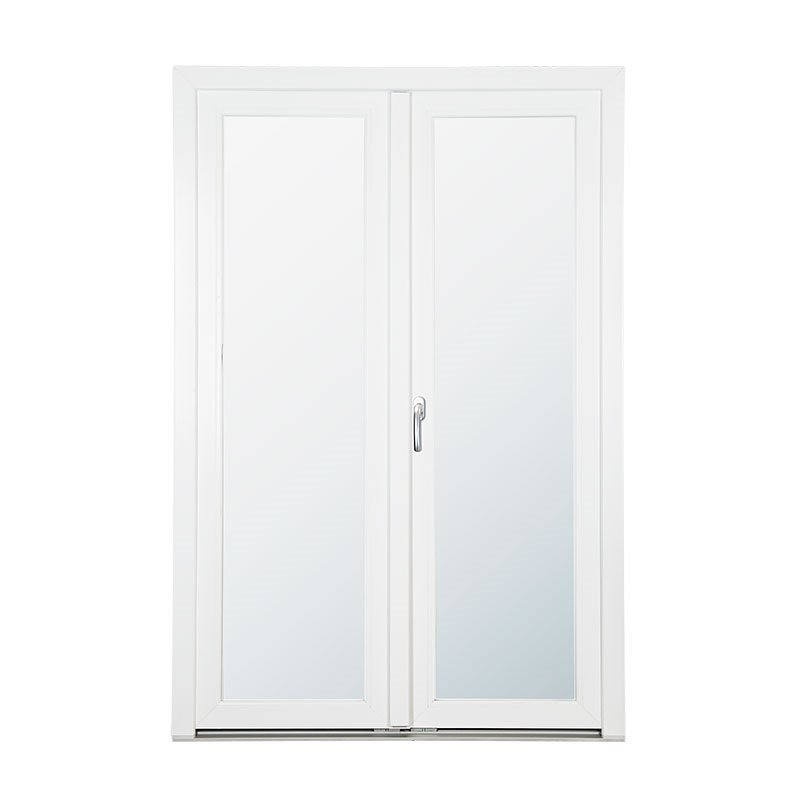 Lasiovi Pariovi PVC Valkoinen