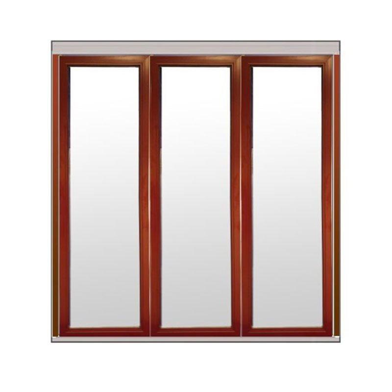 Taitettava ovi Natur V alumiini Viininpunainen
