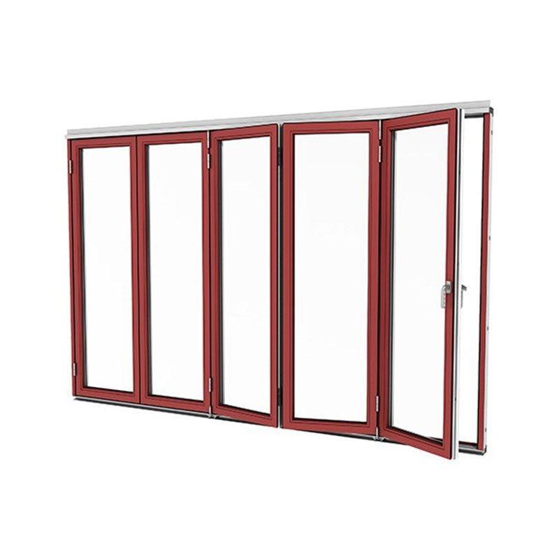 Taitettava ovi Vinter Punainen